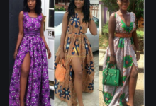 Photo of Slit Ankara gowns for married and single women photos