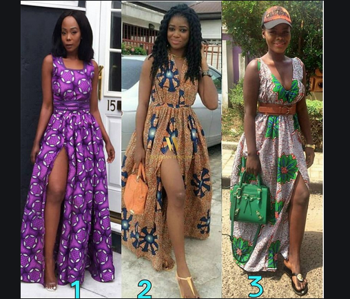 Photo of Slit Ankara gowns for married and single women collection 2021