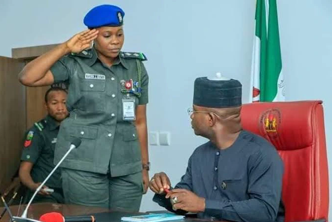 First Female ADC to a Sitting Governor In Nigeria