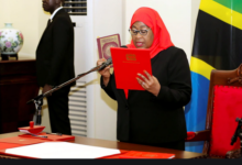 Photo of How Tanzania's first female president takes office
