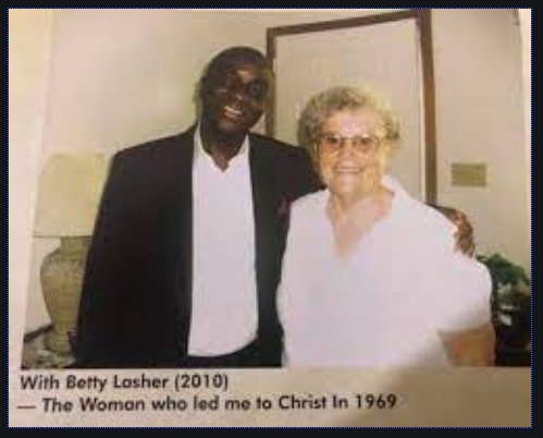 David Oyedepo and Betty Lasher