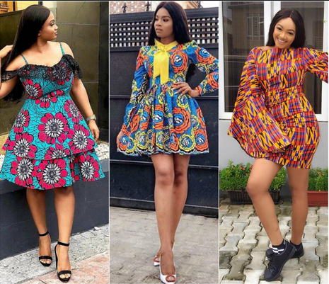 latest ankara short gown styles, attractive latest ankara short gown styles, ankara short gown styles pictures 2021, ankara short flare gowns 2021, latest ankara short gown styles 2021, short ankara gown styles 2021, latest short gowns for ladies, ankara short straight gowns 2020