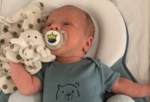 Photo of Two-week-old baby killed by car was premature and 'shouldn't have been here yet'
