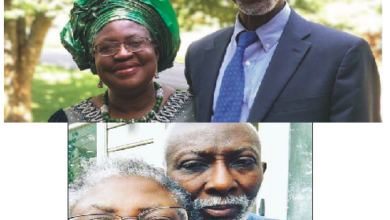 "Photo of The Day Ngozi Okonjo Iweala ""Bought"" Her Husband"