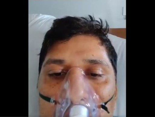Photo of Indian Hospitals Run Out Of Oxygen as Covid-19 Rises
