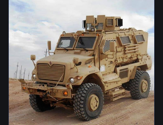 mrap tactical vehicles