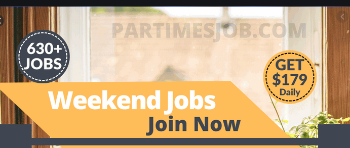 part time weekend jobs