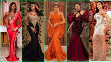 Photo of 20 Gorgeous Lace Asoebi Styles For Cute African Ladies