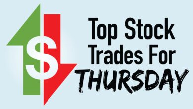 Photo of 4 Top Stock Trades for Thursday: AMC, BBBY, GME, HPE