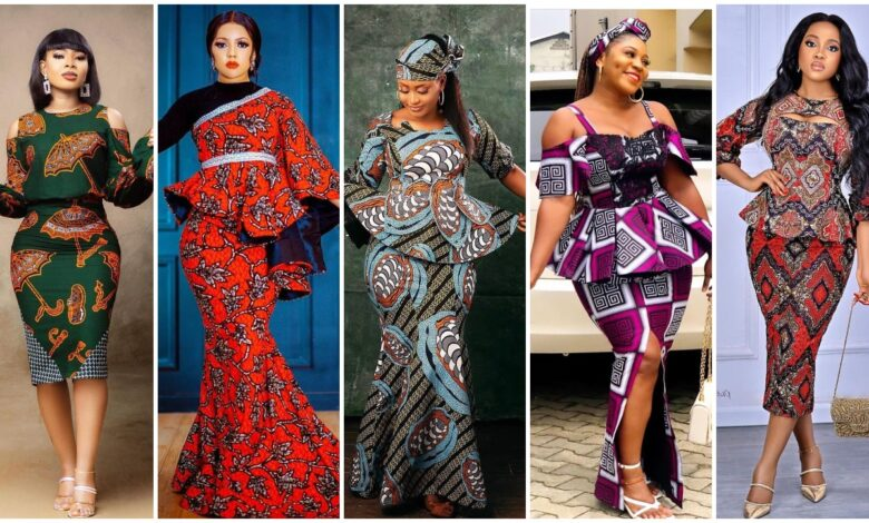 Photo of Exclusively Stunning Ankara Skirt and Blouse Styles for Africans