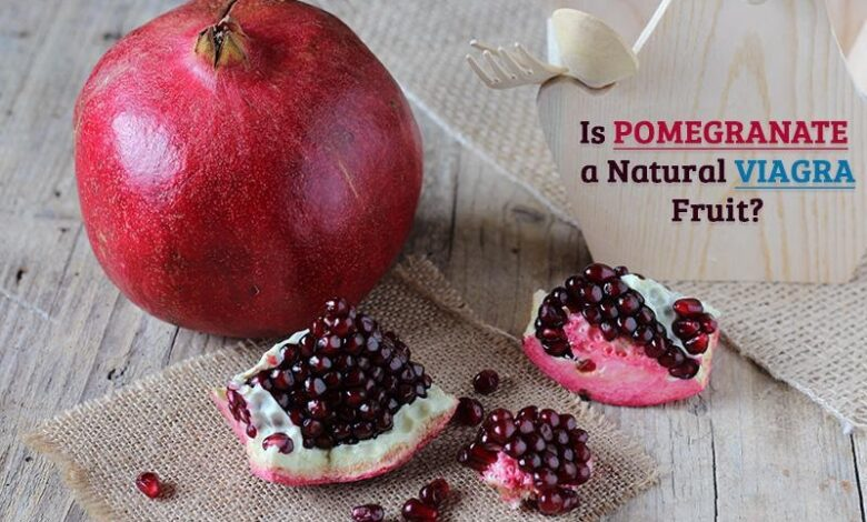 Is Pomegranate a Natural Viagra Fruit