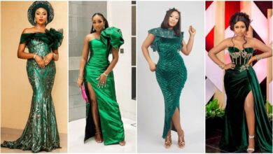 Photo of Popular Emerald Green Colour Aso-Ebi Styles For Your Owambe