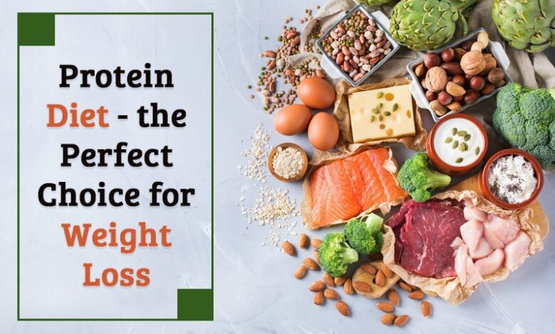 Protein diet - the perfect choice for weight loss