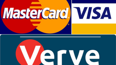 Photo of Difference between mastercard and visa card and verve card
