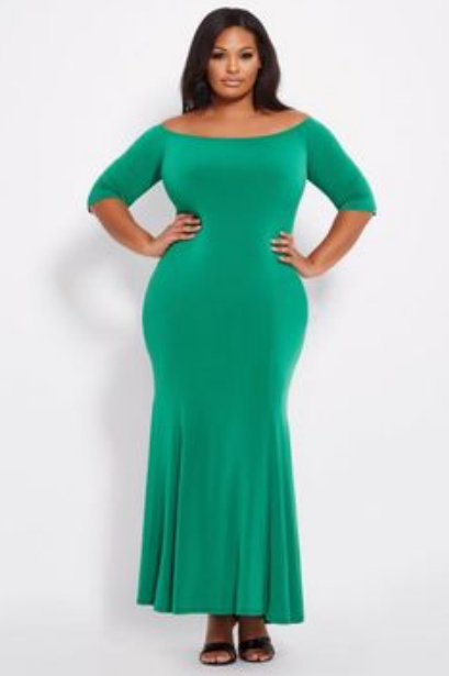 green dresses for ladies