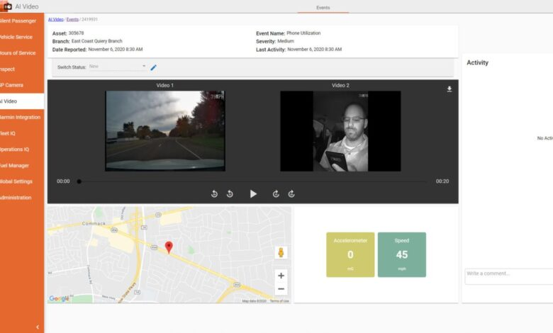 Photo of AI-based truck fleet tracker gets $70M from private equity firm