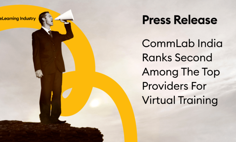 Photo of Top Providers For Virtual Training: CommLab India Ranks 2nd