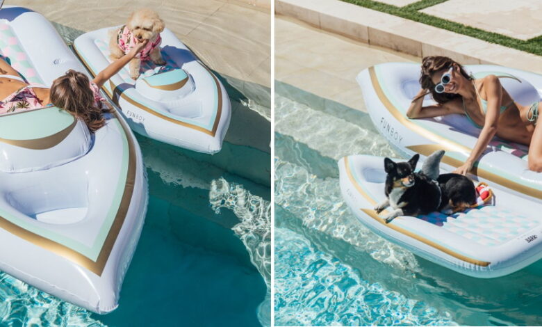 Photo of You Can Get Matching Pool Floats For You And Your Dog And You Definitely Should