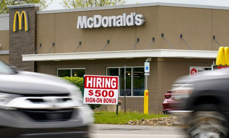 Photo of U.S. adds a solid 850,000 jobs as economy extends its gains