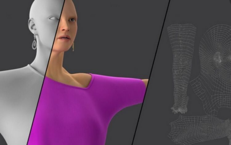 Photo of 3D texturing and modeling