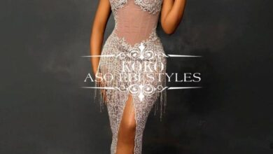 Photo of Bust It! In These 9 Sleek Aso Ebi Bridesmaid Gowns