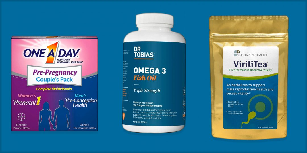 Best Fertility Vitamins and Supplements for Men
