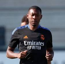 Photo of Real Madrid's New Signing David Alaba Tests Positive For COVID-19