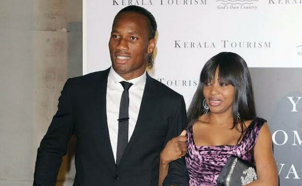Didier Drogba divorced Lalla Diakité after 20 years of marriage