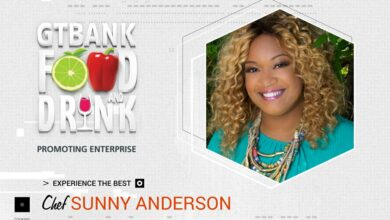 Photo of Sunny Anderson to flavour 2018 GTBank Food and Drink Fair
