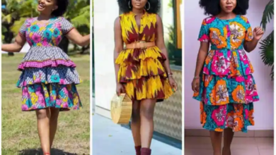 Photo of Ankara Layered Gown Styles For Stylish Ladies
