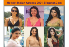 Photo of Hottest Indian actress: Most Beautiful Women in the Indian Film Industry 2021