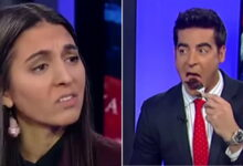 Photo of Fox News Anchor Eats Steak In Front Of Vegan Woman During Discussion About Toxic Masculinity