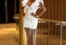 Photo of Tolu Bally Is A Melanin Goddess Stepping Out In This Beautiful White Gown
