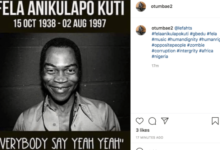 Photo of Fela Lives On! Nigerian Remembers Abami Eda 24 Years After Death