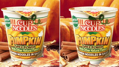 Photo of Cup Noodles Is Releasing A New Pumpkin Spice Flavor Just In Time For Fall